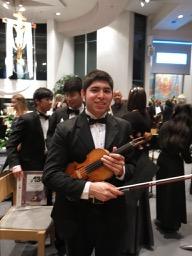 Pierre Flores, Concertmaster