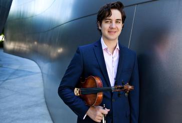 Zach Dellinger, viola